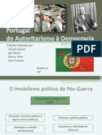Estado Novo - do autoritarismo à democracia