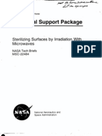 19XX NASA - CRT Sterilizing Surfaces by Irradiation With Microwaves