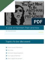 Feminism Presentation