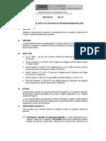 Directiva Para Modificacion de Los Procedimientos Del PEII-2013 Al 09-01-2013