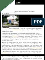 Bloomberg News features Tuck School of Business at Dartmouth Dean Bob Hansen on windfall profits tax, 10/22/08