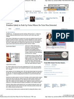 The Wall Street Journal features Dartmouth College Professor Michael Herron on Al Franken, 11/26/08