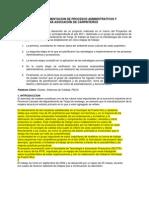 Desarrollo e Implementacion de Procesos Administrativos Carpinterias