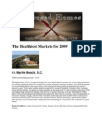 The Healthiest Markets for 2009