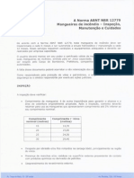 COMENTÁRIOS SOBRE NBR 12779 MANGUEIRA INCÊNDIO