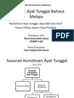 Tajuk 14 Ayat Tunggal Bahasa Melayu
