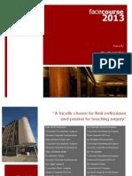 Faculty Flyer 2013