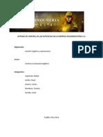 Trabajo Final Sistema de Control de Las Exitencias en La Empresa Segurindustria
