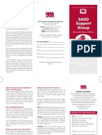 SASO Support Group Brochure