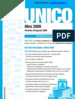 Istruzioni Unico Pf Mini 2009