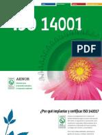 Certificación 14001 - AENOR