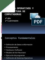 Presentacion1 SO y Aquitectura 2013