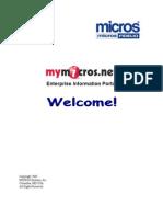 MyMicros Introduction