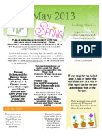 May Newsletter 2013 Dyn and Comp