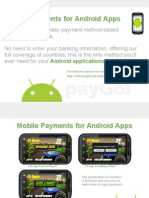 Accept mobile payments on any Android app !