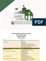 Sandy Hook School Site Evaluation Study