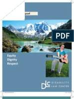 Disability Law Annual Report