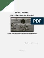 Gomez Morel, Un Clasico de La Miseria. G. Soto R.
