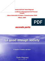 Magrassi Good Enough Society Parte 2 Di 2