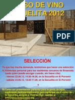 Curso de Vinificacion y Viticultura en La Escuelita