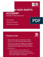 HSE Alert 002 07 Mumbai High North Accident