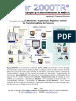 Arquitectura para Monitoreo, Supervisión, Registro y control