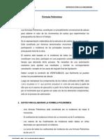 Formula Polinomica Ingenieria Civil