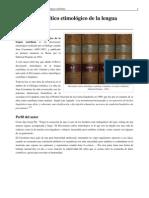 Diccionario Etimológico Coromina