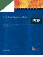 Controle Do Tabagismo No Brasil