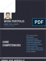 Benny Joseph - Work Portfolio
