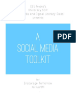 University 50 Social Media Toolkit for Encourage Tomorrow