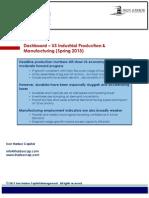 Dashboard - US Manufacturing Spring 2013