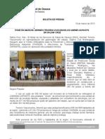18/03/13 Germán Tenorio Vasconcelos pone en Marcha Gtv Capasits en Salina Cruz