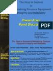 Pressure Equipment Integrity the Keys to Success API 2011 J.reynolds