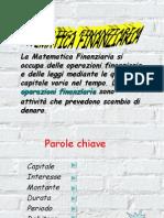 Sintesi Teoria Matematica Finanziaria