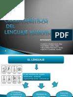 Diapositivas Lenguaje y Sus Caracteristicas