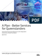 Queensland Government Response to the Independent  Commission of Audit Final Report