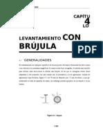 04 CAPITULO 4. Levantamientos Con BrujUla
