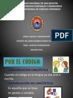 Clases de Comunicacion -Diapositivas