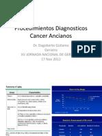Procedimientos Diagnosticos Cancer Ancianos