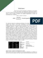 Soluciones-ESTEQUIOMETRIA