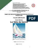 Análisis de Objeto Técnico La Vela de barco