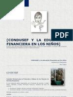 Condusef y la Educación Financiera en los niños
