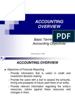 Accounting Overview - Principles & Assumptions