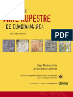 Manual de Arte Rupestre de Cundinamarca, Colombia