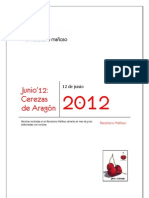 Recetario Mañoso - 06 - Cerezas de Aragón (Jun 2012)