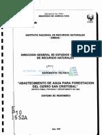 Sistemas Rebombeo San Cristobal