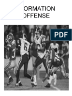 I FORMATION OFFENSE