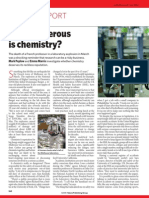 How Dangerous is Chemistry Article1