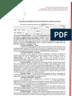 Contrato de Consultoria e Advocacia 2012